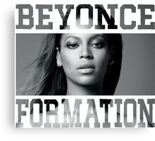 Beyonce Formation Canvas Print