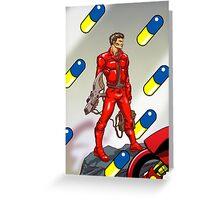 Hero of Neo Tokyo Greeting Card