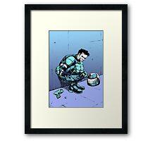 Robot Assassin Framed Print