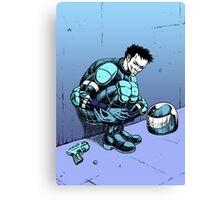 Robot Assassin Canvas Print