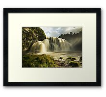 Waihi Waterfalls Framed Print