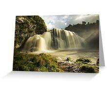Waihi Waterfalls Greeting Card