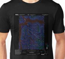 USGS TOPO Map Alaska AK Bradfield Canal A-6 354710 2000 63360 Inverted Unisex T-Shirt