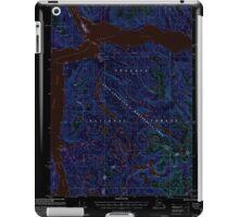 USGS TOPO Map Alaska AK Bradfield Canal A-6 354710 2000 63360 Inverted iPad Case/Skin