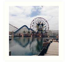 Disneyland 2 Art Print