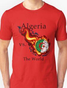 World Cup - Algeria Versus the World Flaming Football T-Shirt