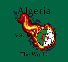 World Cup - Algeria Versus the World Flaming Football Unisex T-Shirt