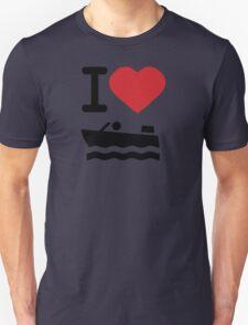 I love boating T-Shirt