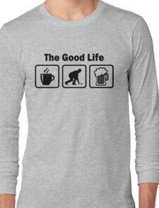 Funny Lawn Bowls The Good Life Long Sleeve T-Shirt