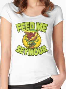 A Shop of ...Horrors? Women's Fitted Scoop T-Shirt