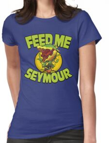 A Shop of ...Horrors? Womens Fitted T-Shirt