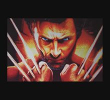 Jackmans Wolvie Claws Out by JMCSharpieArt