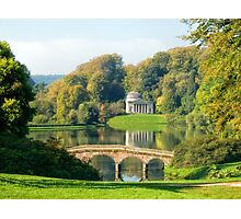 The Pantheon at Stourhead 2 ~ Wiltshire  Photographic Print