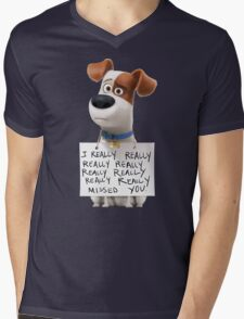 Max - The secret life of pets Mens V-Neck T-Shirt