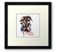 Pandora Hearts - Alice w/ Pandora Logo Framed Print
