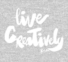 Live Creatively : Dark One Piece - Long Sleeve