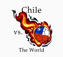World Cup - Chile Versus the World Flaming Football Unisex T-Shirt