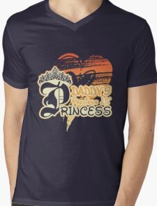Daddy's Precious Lil' Princess Mens V-Neck T-Shirt