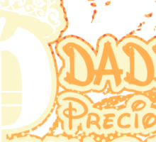 Daddy's Precious Lil' Princess Sticker