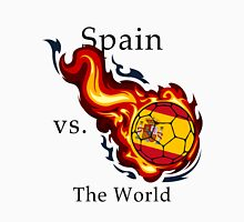 World Cup - Spain Versus the World Flaming Football Unisex T-Shirt