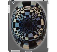 Fibonacci in Grey. Goth Style iPad Case/Skin