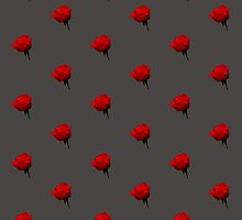 Red Rose by Dave  Knowles