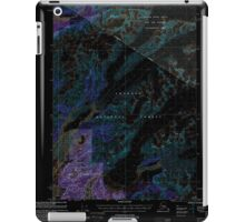 USGS TOPO Map Alaska AK Cordova C-4 355183 2000 63360 Inverted iPad Case/Skin