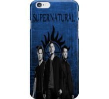Supernatural Team Free Will iPhone Case/Skin