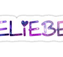 BELIEBER - JUSTIN BIEBER Sticker