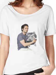 Sebastian Stan Women's Relaxed Fit T-Shirt