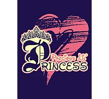 Precious Lil' Princess Photographic Print