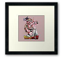 Super Majin Buu 00001 Framed Print
