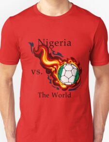 World Cup - Nigeria Versus the World Flaming Football T-Shirt