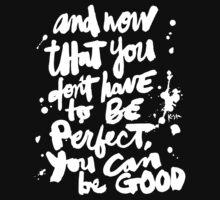Be Good : Dark by finnllow