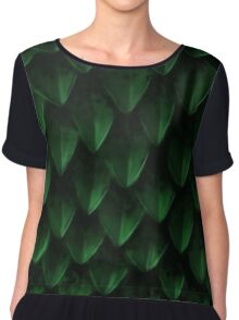 Rhaegal Dragon Scales Chiffon Top