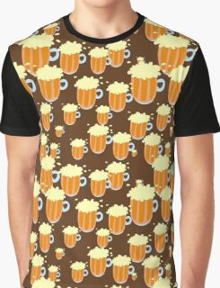 Pattern Food and drinks Graphic T-Shirt