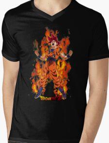 Super Saiyan Goku 00001 Mens V-Neck T-Shirt