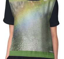 The elusive rainbow- Japanese Gardens -Buenos Aires Chiffon Top
