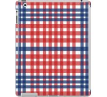 Red patterns tablecloths stylish  iPad Case/Skin