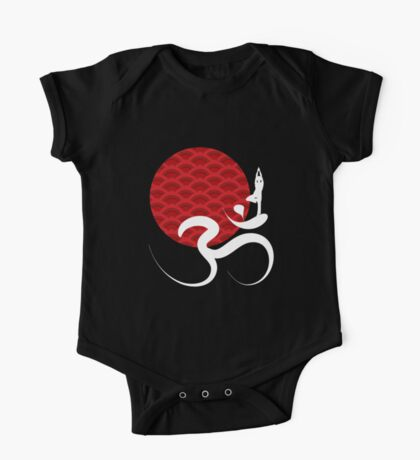 Red Sun, Yoga and Om Kids Clothes