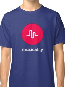 i love music t-shirt,musical.ly Classic T-Shirt