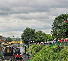 War On The Line - Twin Spits - Ropley - HDR by Colin J Williams Photography