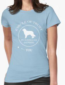 Funny Australian Shepherd Dog Womens Fitted T-Shirt