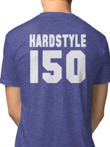Hardstyle Football (White) Tri-blend T-Shirt