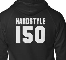 Hardstyle Football (White) Zipped Hoodie