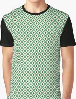 Green pattern Graphic T-Shirt