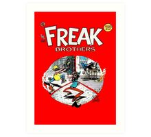 Freak Bros Art Print