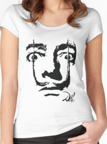 Dali Women's Fitted Scoop T-Shirt