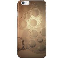 Grey Vintage Film Reel Phone Case (iPhone/Galaxy) iPhone Case/Skin