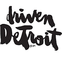 Driven Detroit : Light Photographic Print